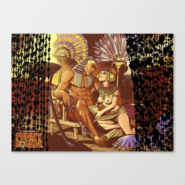 Dreaming with the pharaoh Canvas Print