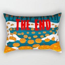 The End of the Pumpkin Patch Rectangular Pillow