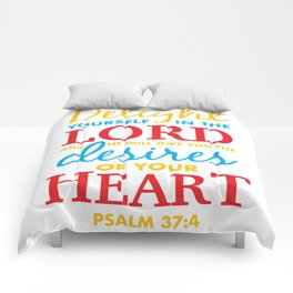 Psalm 37:4 Comforters