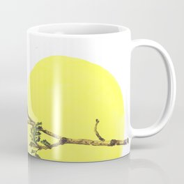 branch spring sun nature watercolor Coffee Mug