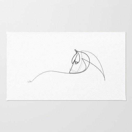 Pony line Rug