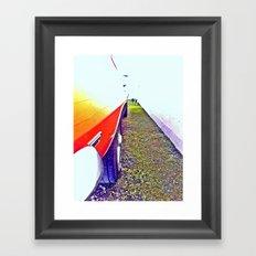 rubble Framed Art Print