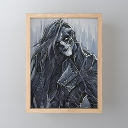 """Erika, The Opera Ghost"" Framed Mini Art Print"