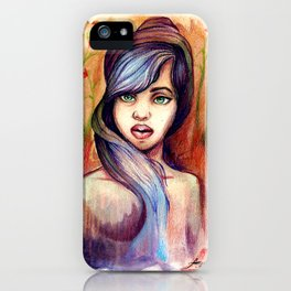 She is Lavender iPhone Case