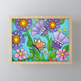 Springtime Series #3 Butterfly Framed Mini Art Print