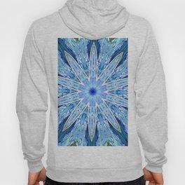 Thinking of You Blue Kaleidoscope Hoody