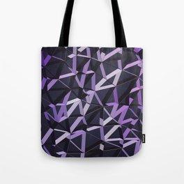3D Futuristic GEO Lines VIX Tote Bag