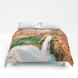 Havasu Falls / Grand Canyon, Arizona Comforters