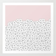 Forget Pink Boarder 2 Art Print