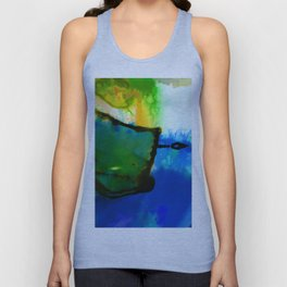 Abstract Bliss 4I by Kathy Morton Stanion Unisex Tank Top