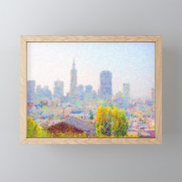 City Skyline by MB7Art Framed Mini Art Print