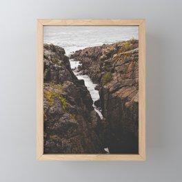Quiberon, Bretagne, France Framed Mini Art Print