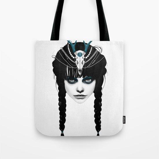 Wakeful Warrior - In Blue Tote Bag