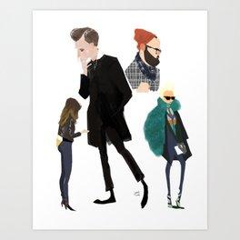 Fashion 2 Art Print