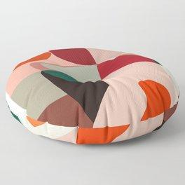 Geometric shapes Floor Pillow