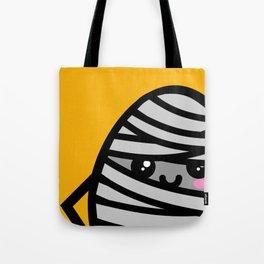 Creepy Egg Mummy - Halloween Tote Bag