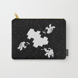 Incomplete Space Carry-All Pouch