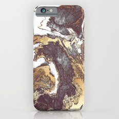Black White Gold iPhone 6 Slim Case