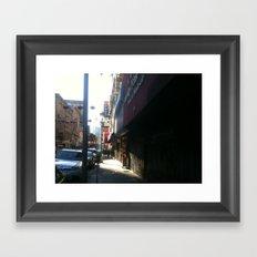 Chinatown stroll 1  Framed Art Print