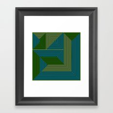concentric 07 Framed Art Print