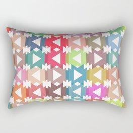 Pastel geometry Rectangular Pillow