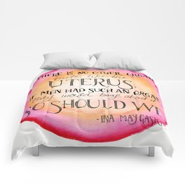 No Other Organ Like the Uterus Comforters