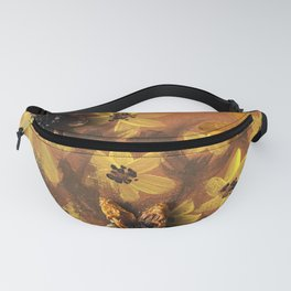 Sunflower Garden Artwork Fanny Pack