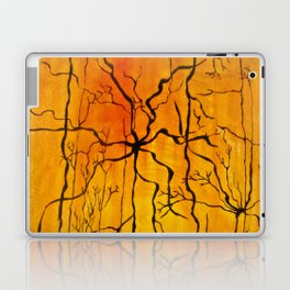 Neural Activity (An Ode to Cajal) Laptop & iPad Skin
