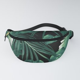 Tropical Jungle Leaves Dream #6 #tropical #decor #art #society6 Fanny Pack