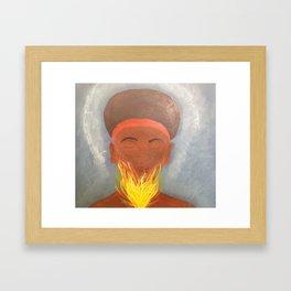 The Holy Spirit Lives in Me Framed Art Print