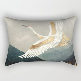 Elegant Flight Rectangular Pillow