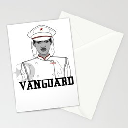 Black and White VG Stationery Cards
