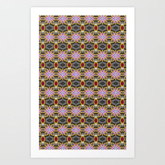 Karma Quilt Art Print
