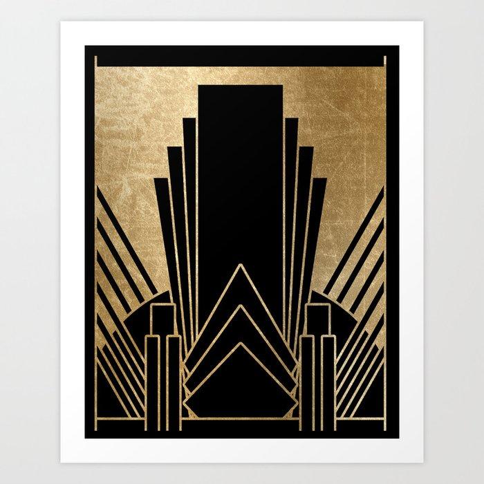 Art deco design Kunstdrucke