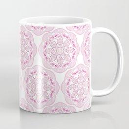 petal pink medalion Coffee Mug