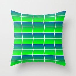 Spring Panes Throw Pillow