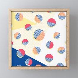 Japanese Patterns 01 Framed Mini Art Print