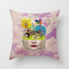 Modern Vintage Collection -- Uncertainty Throw Pillow