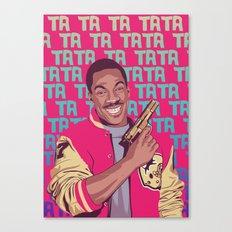 Beverly Hills Cop + music theme Canvas Print