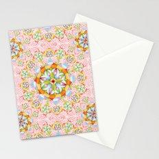 Pink Paisley Mandala Stationery Cards
