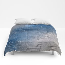 Silver music Comforters