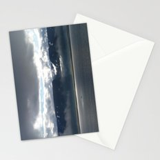 Sun on an Icelandic Fjord Stationery Cards