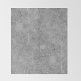 Simply Concrete II Throw Blanket