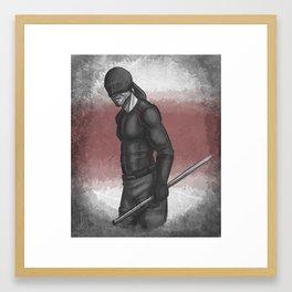 Devil Who Dares Framed Art Print