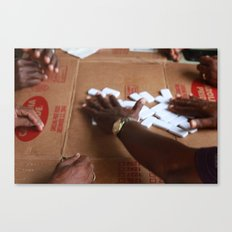 DOMINOS. Canvas Print