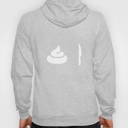 Poop Knife Tshirt Minimalist Icon Symbol Shirt Hoody