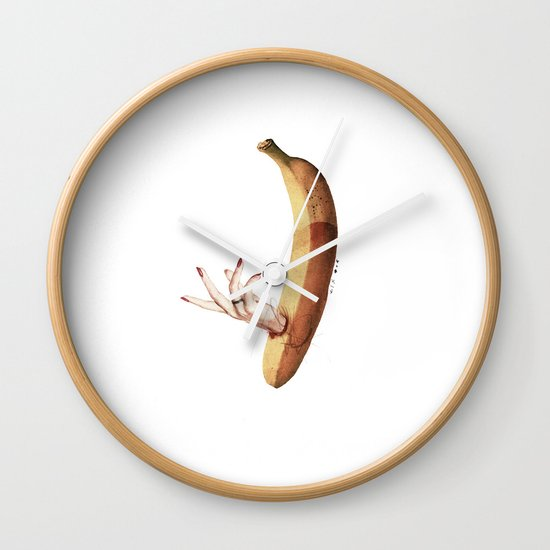 Faux | Collage Wall Clock