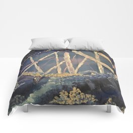The Healing Crystal cave Comforters