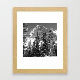 EIGER NORTH FACE, SWITZERLAND Framed Art Print