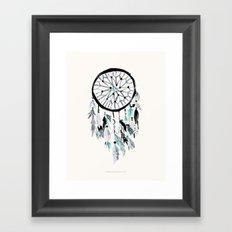 Solstice Dream Catcher Framed Art Print